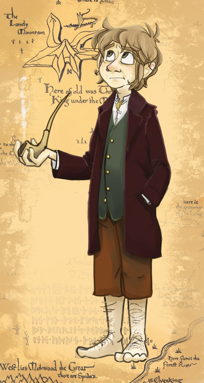 the_hobbit__bilbo_baggins_by_muminika-d5o6605